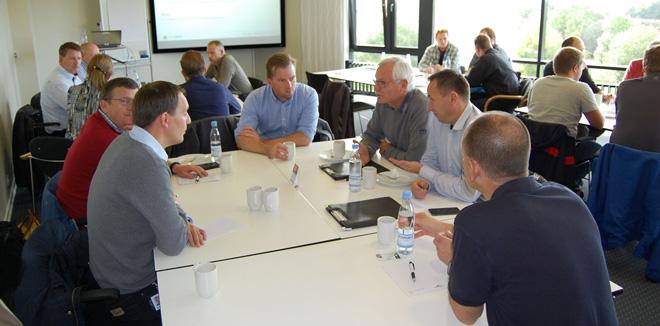 ERFA møde: TIMESAFE på alle niveauer
