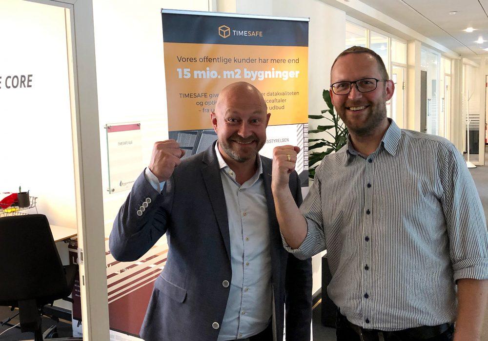 Jakob Fogde er startet som ny Salgschef hos TIMESAFE