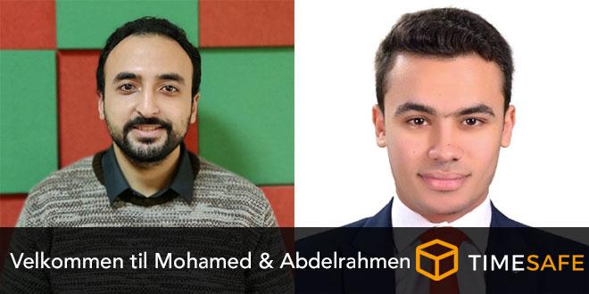 Velkommen til to nye udviklere hos TIMESAFE