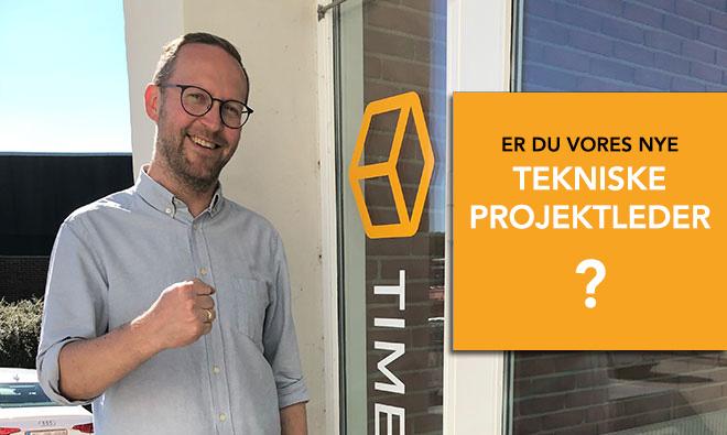 Teknisk projektleder med flair for salg