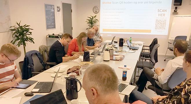 Undervisning af Bygningsstyrelsen og Wicotec Kirkebjerg